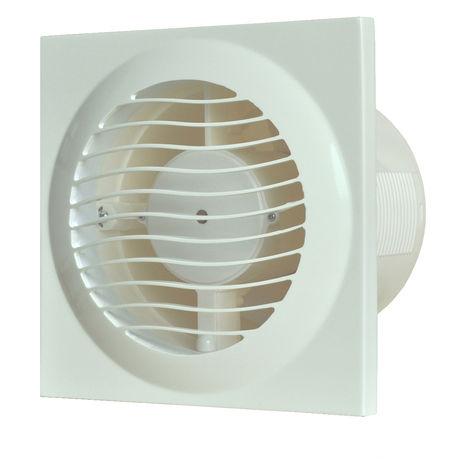 Ventilateur extracteur de salle de bain blanc 4 pouces