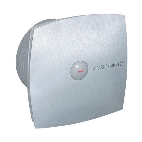 Ventilateur extracteur de salle de bain en acier inoxydable Culina XMART15IX