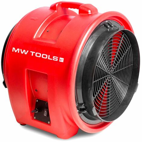 Ventilateur extracteur mobile 400 mm - 700 W MW-Tools MV400PP