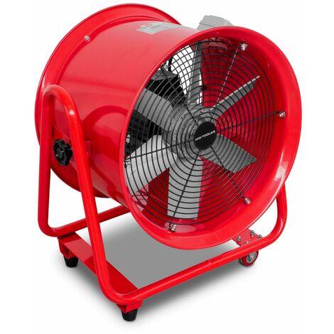 Ventilateur extracteur mobile 400mm - 550W - 400V MW-Tools MV400R3