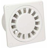 Ventilateur extractible de salle de bains de cuisine de basse énergie ventilateur de disque standard de 100mm