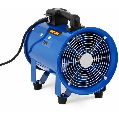 Ventilateur Industriel Axial Diamètre De 200mm Acier Extracteur D'Air 1500 m³/h