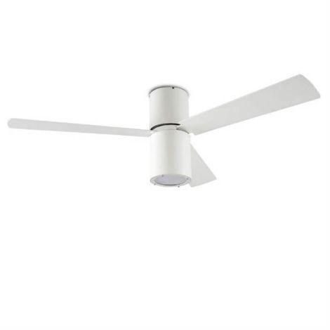 Ventilateur Lumineux De Plafond Design Formentera Blanc Blanc