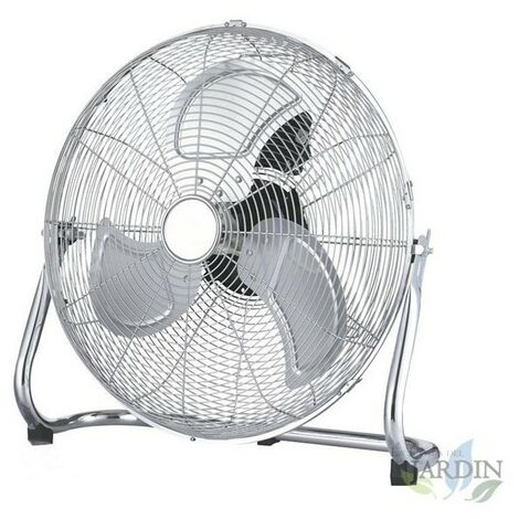 "Ventilateur métallique haute vitesse 18"" 100W 3 vitesses"