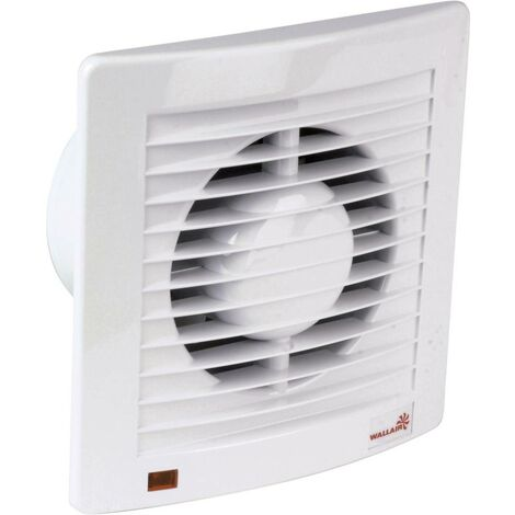 Ventilateur mural et de plafond Wallair W-Style 100 20110601 230 V 95 m³/h 10 cm 1 pc(s)