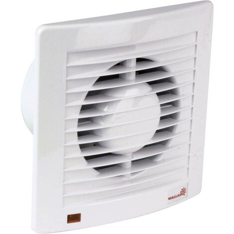 Ventilateur mural et de plafond Wallair W-Style 100 20110602 230 V 95 m³/h 10 cm 1 pc(s)