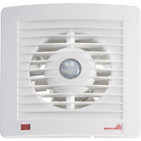 Ventilateur mural et de plafond Wallair W-Style 120 20110608 230 V 165 m³/h 12.5 cm 1 pc(s)
