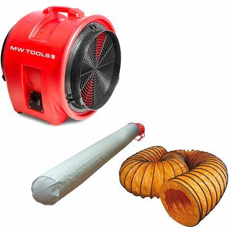 Ventilateur MV400PP avec accessoires MW-Tools MV400PPSET