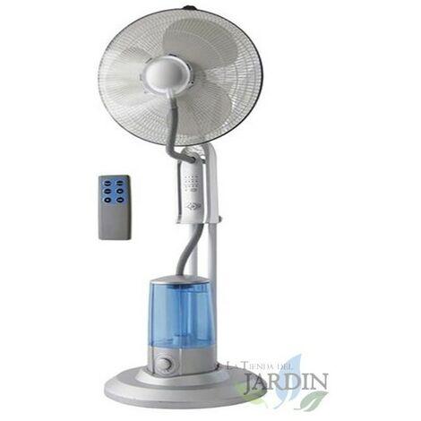 Ventilateur nébuliseur 3 vitesses 100W 40cm, 4 litres