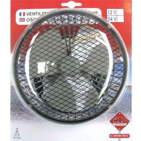 Ventilateur oscillant clip 12V