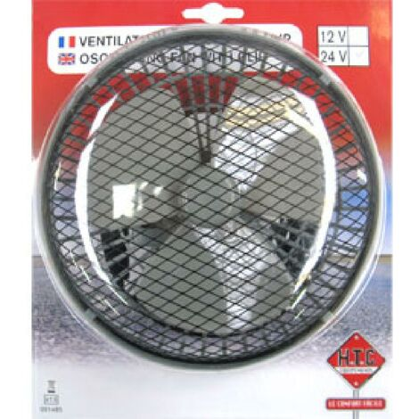 Ventilateur oscillant clip 24V