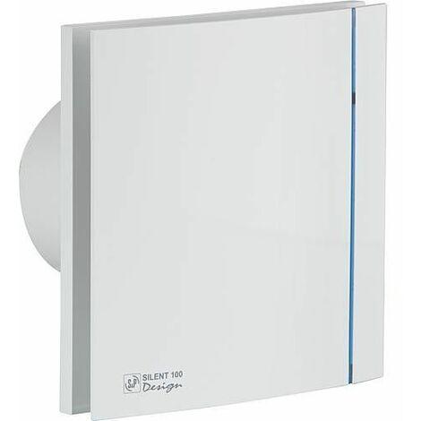 Ventilateur petit volume S+P Silent-100 Silver Design CHZ
