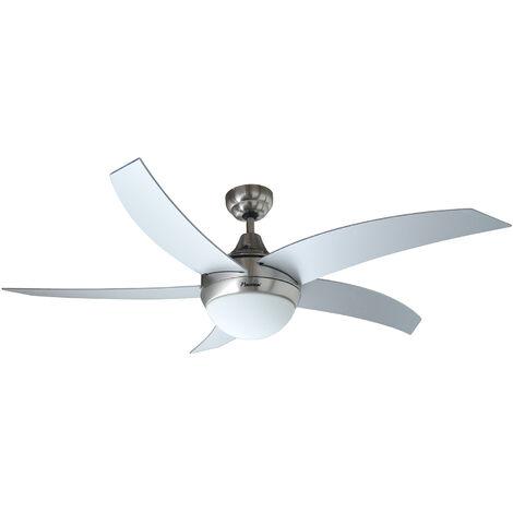 """main image of """"ventilateur plafond 132cm + lumière - dcf52lsr - bestron"""""""