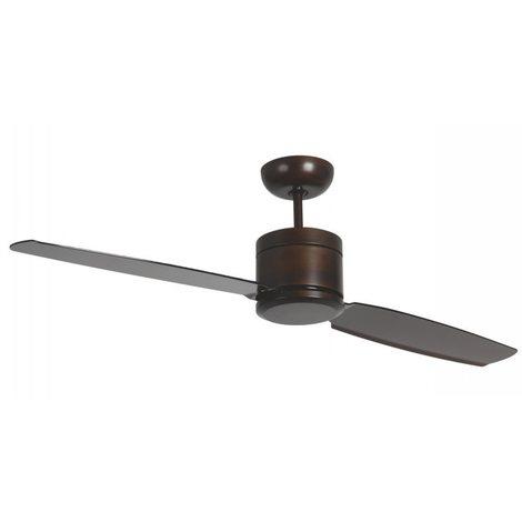 Ventilateur Plafond sans eclairage Turno cm 132x34x132 Pepeo GmbH 132201304