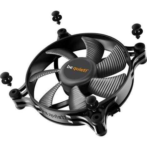 Ventilateur pour boîtier PC BeQuiet Shadow Wings 2 noir (l x h x p) 120 x 120 x 25 mm