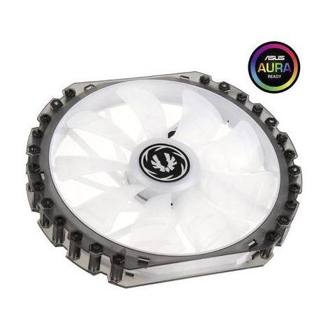 Ventilateur pour boîtier PC Bitfenix Spectre Pro RGB noir (transparent), blanc (transparent) (l x h x p) 230 x 230 x 25 mm