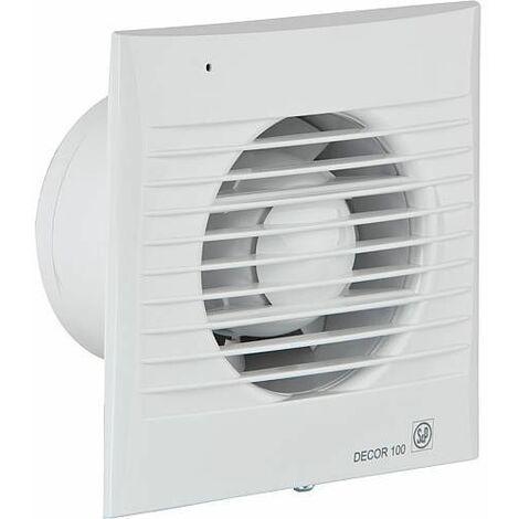 Ventilateur pour petites pieces Decor-100 CZ (blanc) 230V, 50Hz Temperature ambiante 40° C