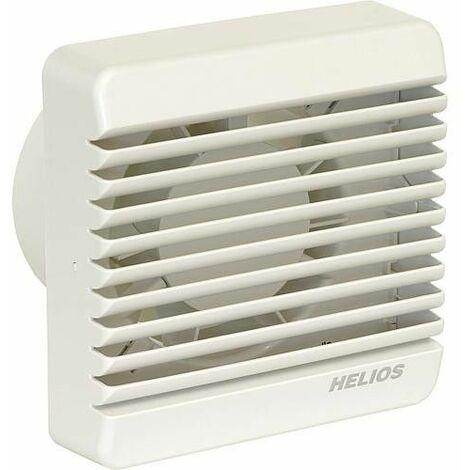 Ventilateur pour petites pieces HV100 EZ Modele de base DN 100, relais temporise et fermeture interieure electrique