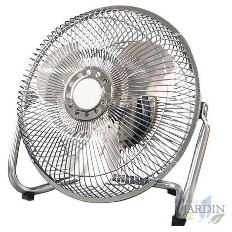 """Ventilateur puissant 9"""" 3 vitesses 38 W"""