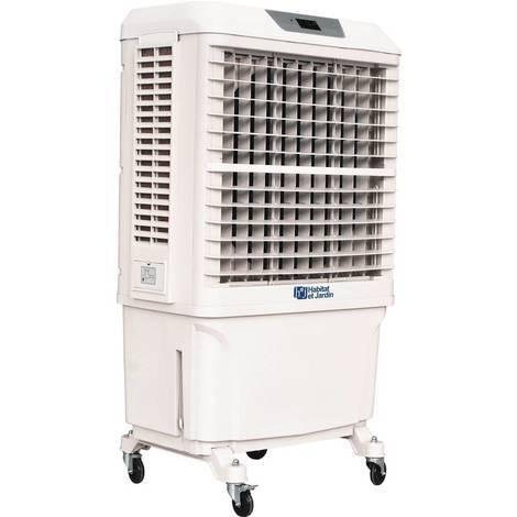 Ventilateur Rafraîchisseur d'air - 8.000m3/heure - Blanc