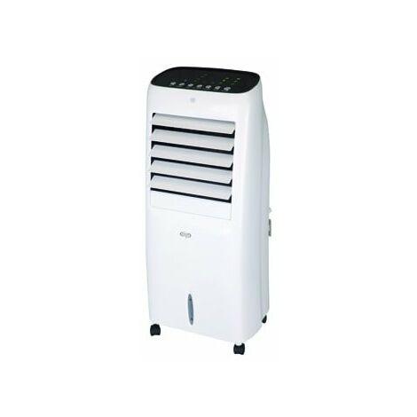 Ventilateur rafraichisseur d'air par évaporation blanc mobile 91W 412m3/h 825X356X279mm hydrofraîcheur HUSKY ARGO 398000462