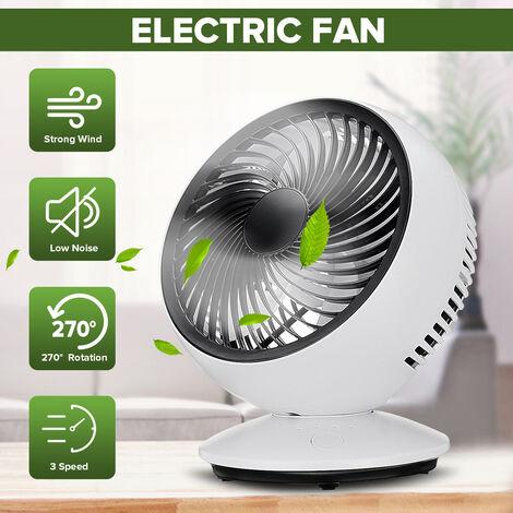 Ventilateur Rechargeable refroidisseur d'air Mini bureau USB 8000mAh ventilateur de batterie ventilateur silencieux Portable ordinateur portable PC ventilateur de Table de bureau