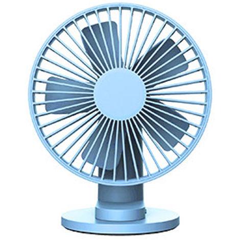 Ventilateur, Rotatif a 90 ¡ã, Vitesse De Vent a 3 Modes, Bleu