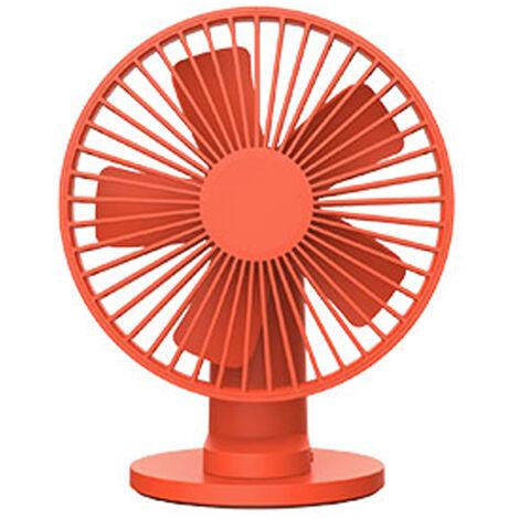 Ventilateur, Rotatif a 90 ¡ã, Vitesse De Vent a 3 Modes, Orange
