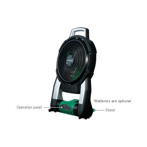 Ventilateur sans fil 14,4-18V li-ion sans accessoires machine seule HITACHI UF18DSAL