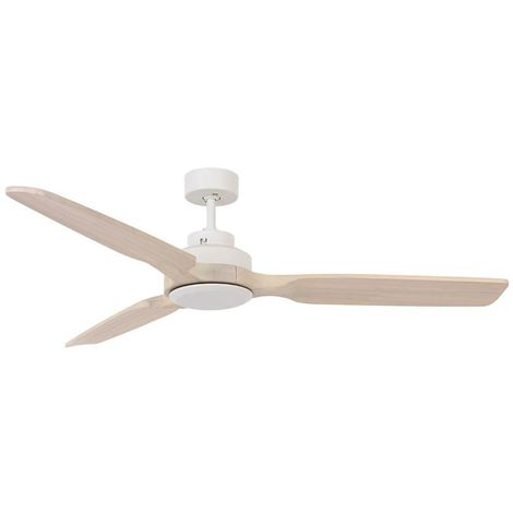 Ventilateur sans lumière Blanc avec 3 pa cm 142x31x142 Lucci air 213052
