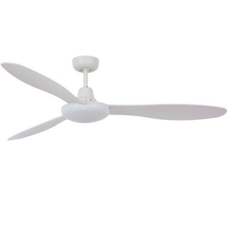 Ventilateur sans lumière White Jetstream cm 148x31,5x148 Bayside 213020