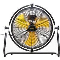 Ventilateur STANLEY 150 W Acier orientable 360° moteur 3 vitesses haute qualité