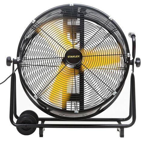 Ventilateur STANLEY 200W PRO Oscillant Inclinable 2 vitesses Haute qualité