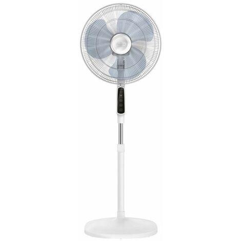 ventilateur sur pied 3 vitesses 40cm 45w blanc - vu4440f0 - rowenta