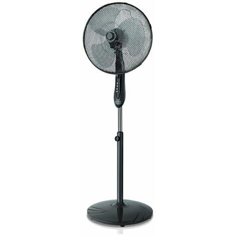 ventilateur sur pied 3 vitesses 40cm 45w noir - boreal 16cr - taurus alpatec