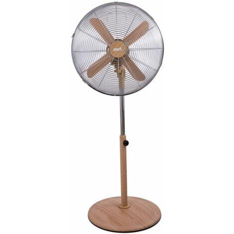 ventilateur sur pied 3 vitesses 45cm 60w - woodairs - ewt