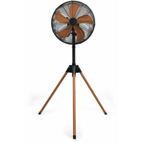 ventilateur sur pied 40cm 50w - dom446 - livoo