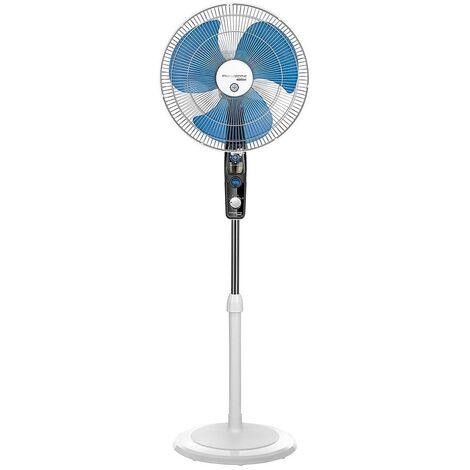 ventilateur sur pied 40cm 60w 3 vitesses blanc - vu4210f0 - rowenta