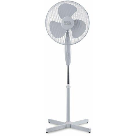 Ventilateur sur pied 40W - 40cm - Cool clima
