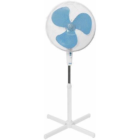 ventilateur sur pied 45cm 45w blanc - asv45w - bestron