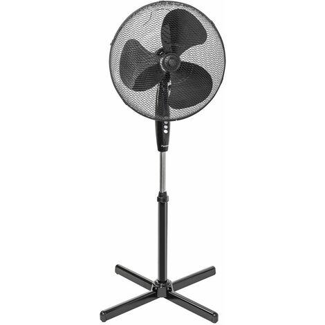 ventilateur sur pied 45cm 45w noir - asv45z - bestron