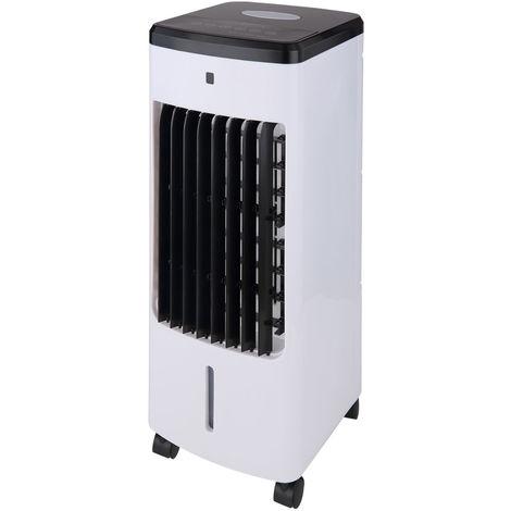 Ventilateur sur pied avec télécommande et humidificateur, REFROIDISSEUR D'AIR