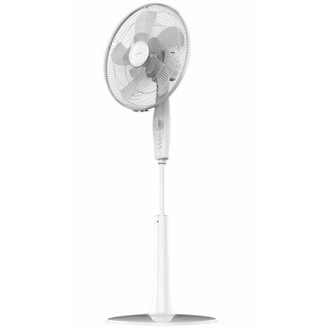 Ventilateur sur Pied Cecotec Forcesilence Extremeflow 65 W-Couleur-Blanc