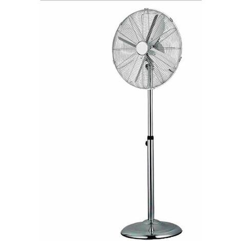Ventilateur sur pied chromé CLASIC, diamètre 40cm, 60w