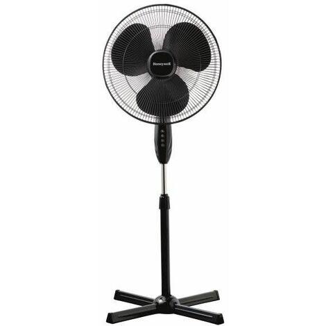 Ventilateur sur Pied Comfort Control : 3 vitesses - Puissant et silen HONEYWELL - HSF1630E