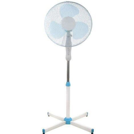Ventilateur sur pied Daewoo DDV160 45 W (Ø) 40 cm gris, blanc 1 pc(s)