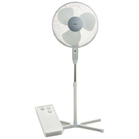 Ventilateur sur pied DOMO - D40cm x H120cm - télécommande DO8141