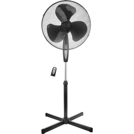 Ventilateur sur pied EMERIO FN-122397.1 45 W noir 1 pc(s)
