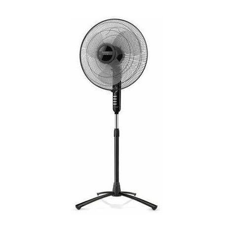 Ventilateur sur pied, noir, diamètre 40cm BERGEN 16 C