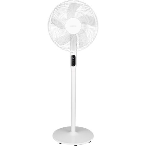 Ventilateur sur pied SILENZIO VARMA - Blanc